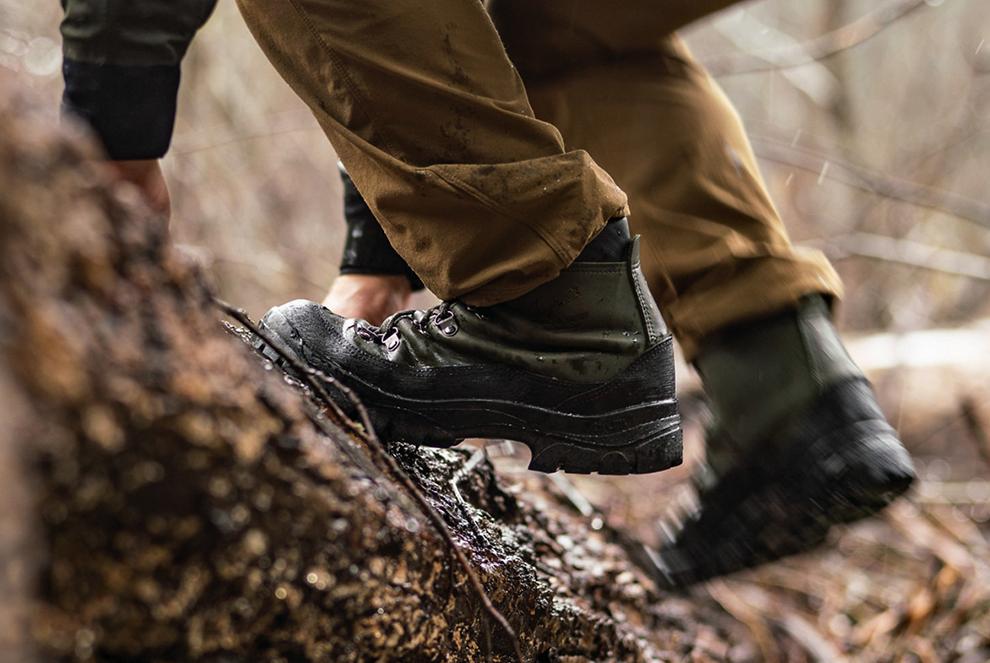 Med rätt vandringskängor blir vandringen en bra upplevelse.