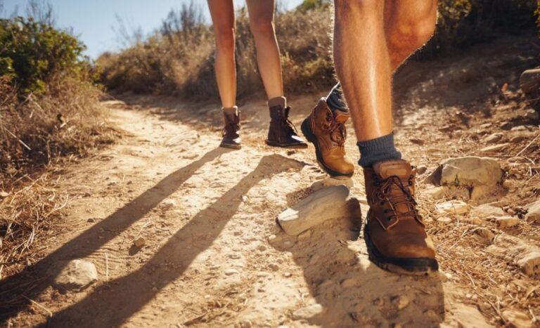 Test av vandringskängor
