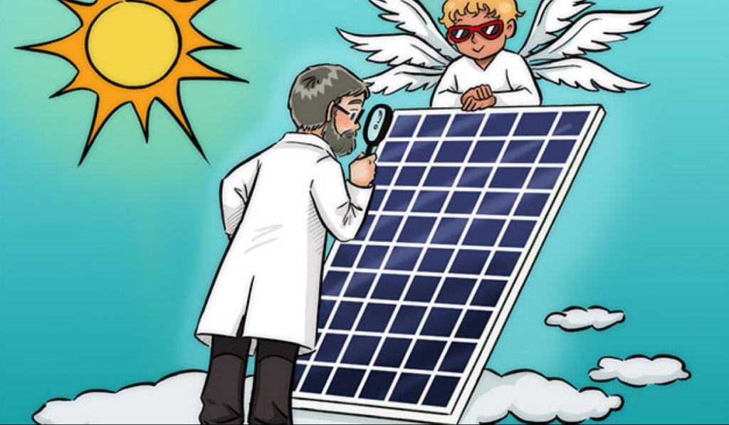 Välja solpanel till solcellsladdare