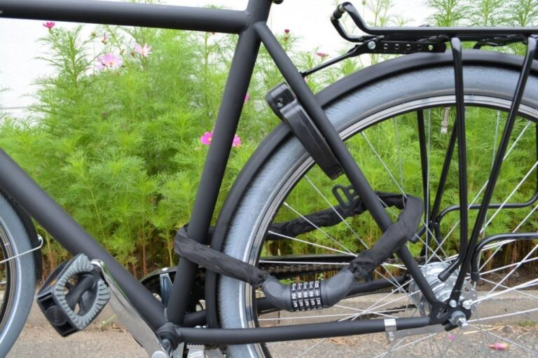Test av cykellås