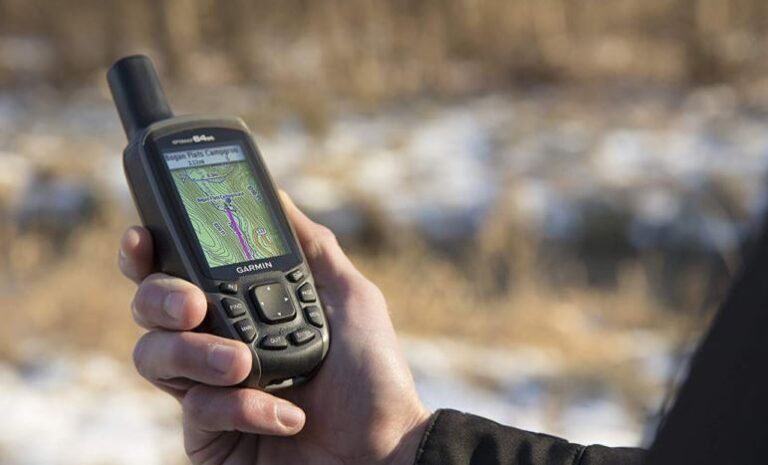 Test av GPS - handhållen