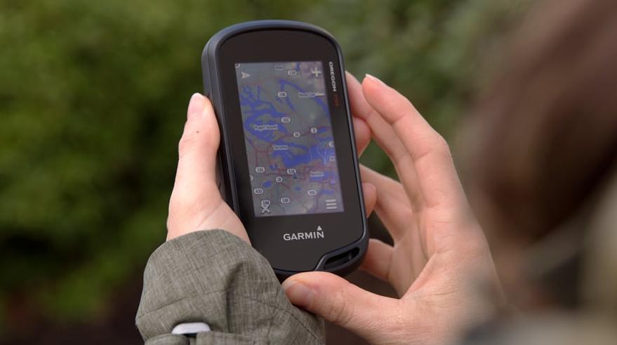 Praktiskt att använda en GPS för navigation.